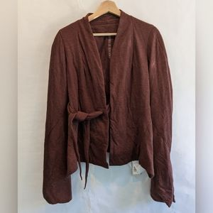 Rick Owens Lilies soft jacket 6 blood color BNWT